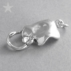 Sterling Silver Stingray Charm