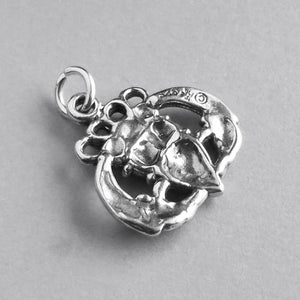 Irish Claddagh hands heart crown symbol | Amanda Jo Charms