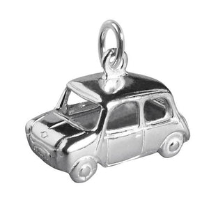 Austin Morris Mini Motor Car Charm | Silver Star Charms