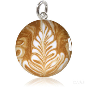 Coffee Art Meniscus Pendant