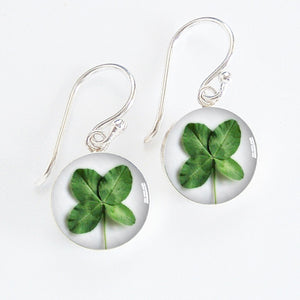 Clover Leaf Meniscus Earrings