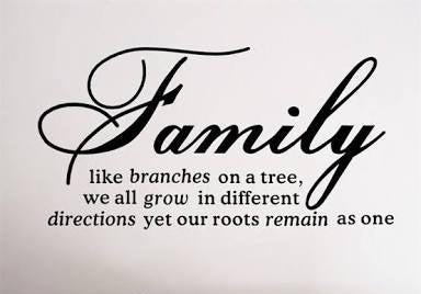 Family Branches Wall Sticker