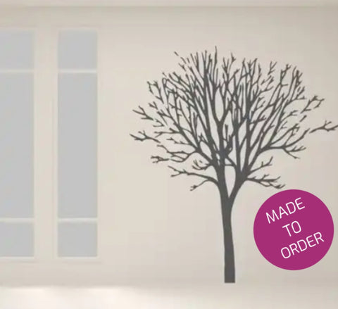 Winter Tree Vinyl Wall Sticker