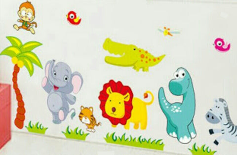 Animal Fun Wall Sticker