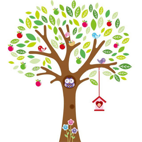 Apple Tree Wall Sticker