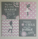 Ballerinas Canvas Set