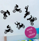 Bike Tricks Wall Sticker