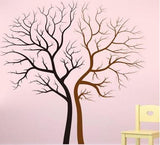 Black and BrownTrees Wall Sticker