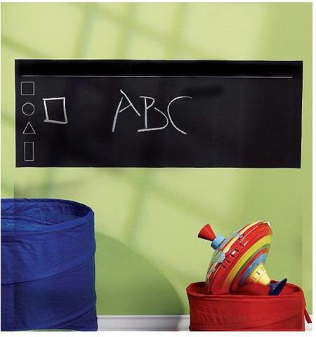 Long blackboard wall sticker
