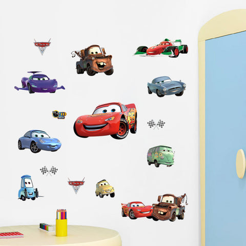 Cars Variety Wall Sticker