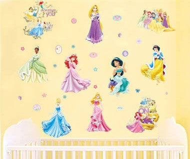Disney Princesses Wall Sticker