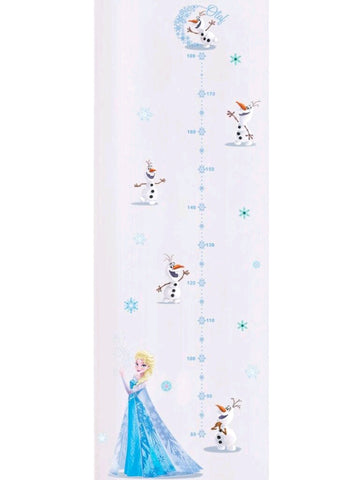 Elsa and Olaf Growth Chart