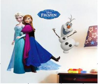 Elsa and Anna Wall Sticker