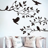 Birds in Tree Wall Sticker