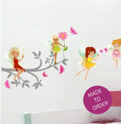Fairies On A branch