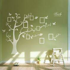 Photo Frame Tree White Wall Sticker