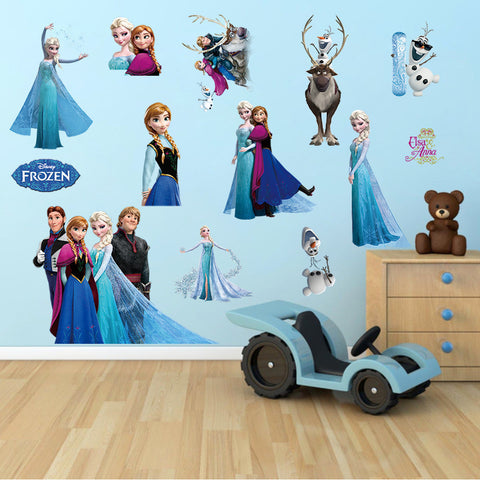 Frozen Wall Sticker 2