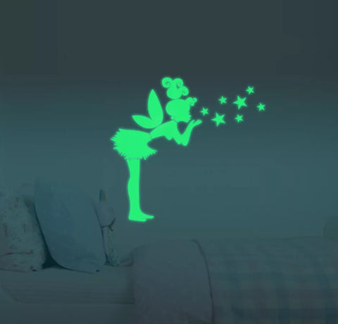 Glow in the dark Fairy wall sticker