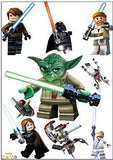 Lego Star Wars Wall Sticker Pack