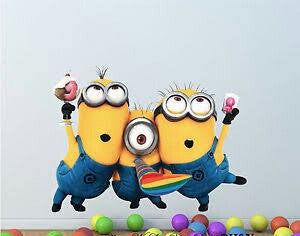 Minions 2 Wall Sticker