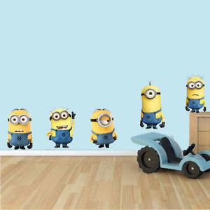 Minions Wall Sticker