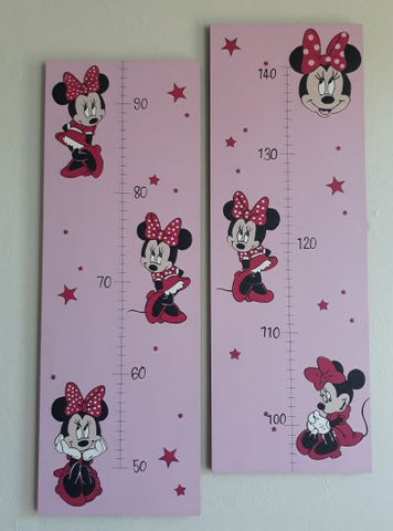 Minnie Mouse Wooden Growth Chart