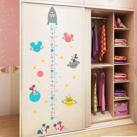 Minnie and Mickey Mouse Growth Chart