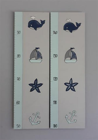 Nautical Wooden Growth Chart