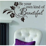 Own Kind of Beautiful Wall Sticker