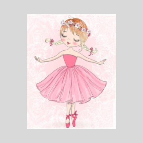 Pretty Ballerina Canvas Print