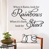 Rainbows and Stars Wall Sticker