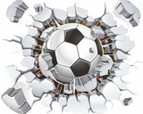 Soccer Ball Wall Sticker