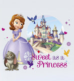 Sofia The First Sweet Princess Wall Sticker