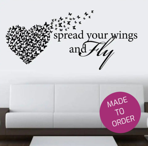Spread Your Wings Wall Sticker