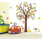 Tree and Animals Wall Sticker 2