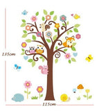 Tree and Animal Friends Wall Sticker