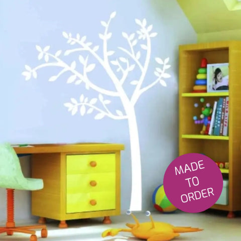 White Tree Wall Sticker