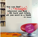 You Can Find Magic Wall Sticker