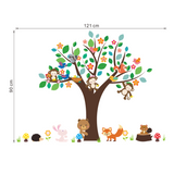 Tree and Little Animals