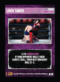 Liger Supershow character card set