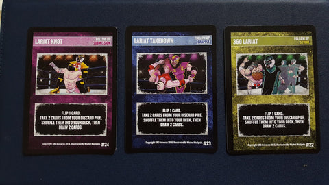 Liger Supershow promo card set