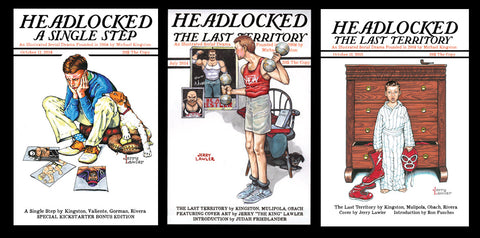 Headlocked: A Single Step and The Last Territory vol. 1 & 2 bundle