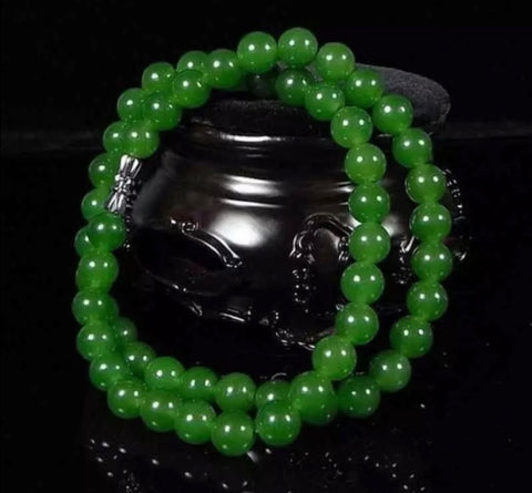 100% Natural Jade Jade Bracelet/ Necklace