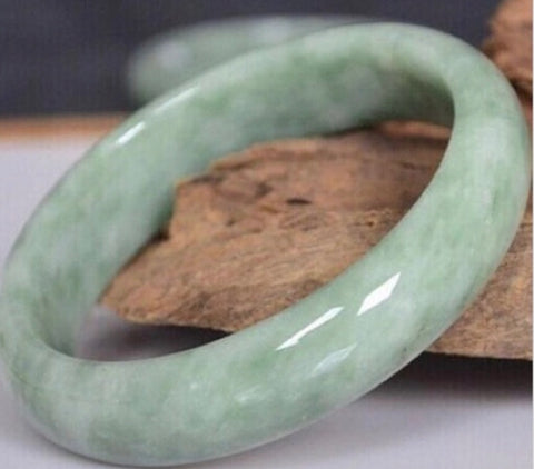 100% Natural Grade A Jadeite Bangle 60MM