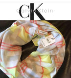 Calvin Klein Silk Sheer High Quality Women's Scalf