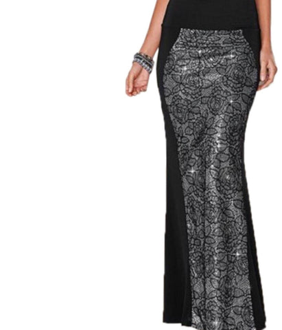 SEQUIN MAXI SKIRT (TOP NOT INCLUDED)