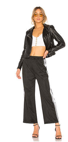 WOMENS NIGHT OUT DRESSY ATHLETIC TRACK PANT