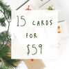 Christmas Bundle - 15 pack - Well Drawn