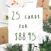 Christmas Bundle - 25 pack - Well Drawn