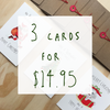 Christmas Bundle - 3 pack - Well Drawn